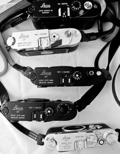 Leica, fotografia analogica