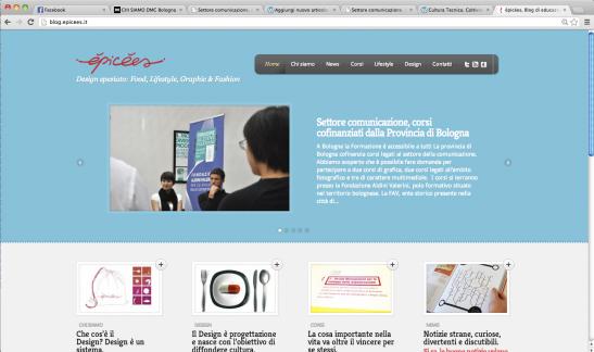 Fondazione Aldini Valeriani, épicées