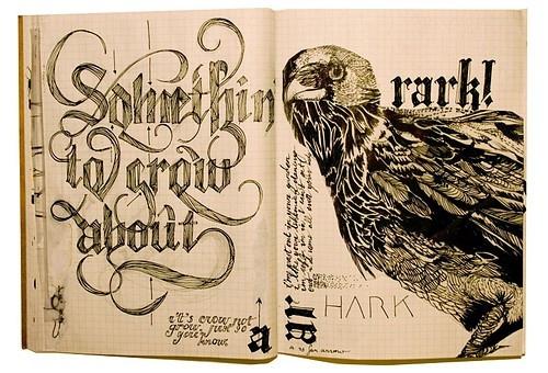 art-calligrafia-calligraphy-crow-design-doodle-Favim.com-37831
