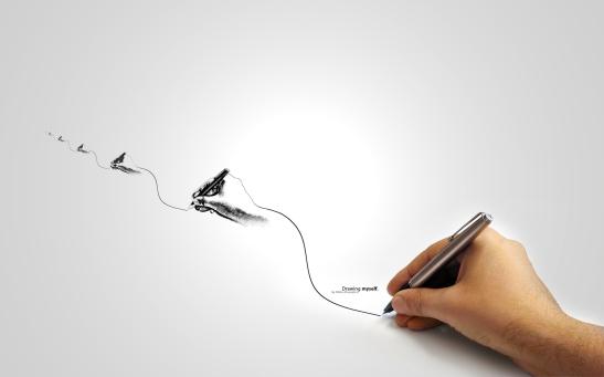 Drawing_myself__by_Uribaani